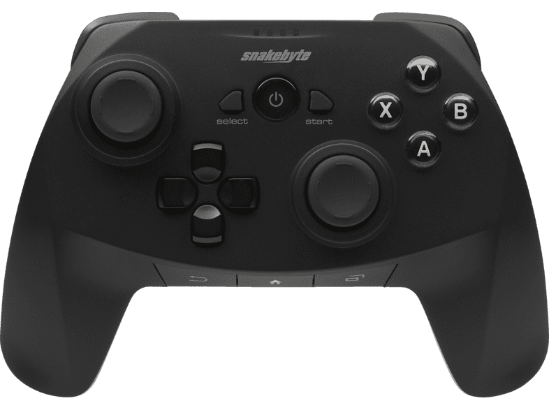 SNAKEBYTE SB909665 Game Pad Ab Android , Android Gamepad, Schwarz