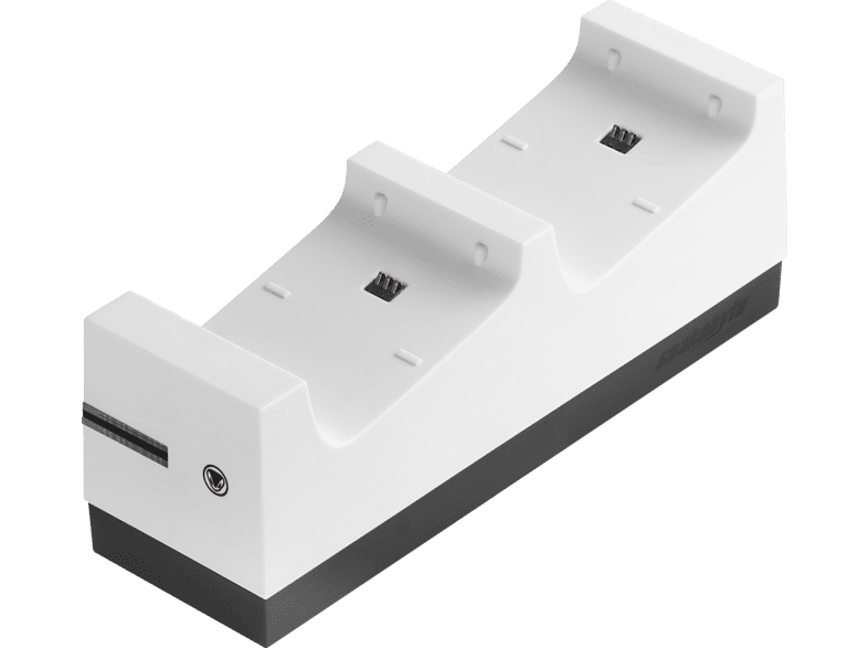 SNAKEBYTE Twin:Charge X™ Ladestation, Weiß