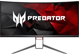 ACER Predator X34P 34 Zoll UWQHD Gaming Monitor (HDMI + DP + Audio Out + USB 3.0 Hub(1up4down) Kanäle, 4 ms Reaktionszeit, G-SYNC, 120 Hz)