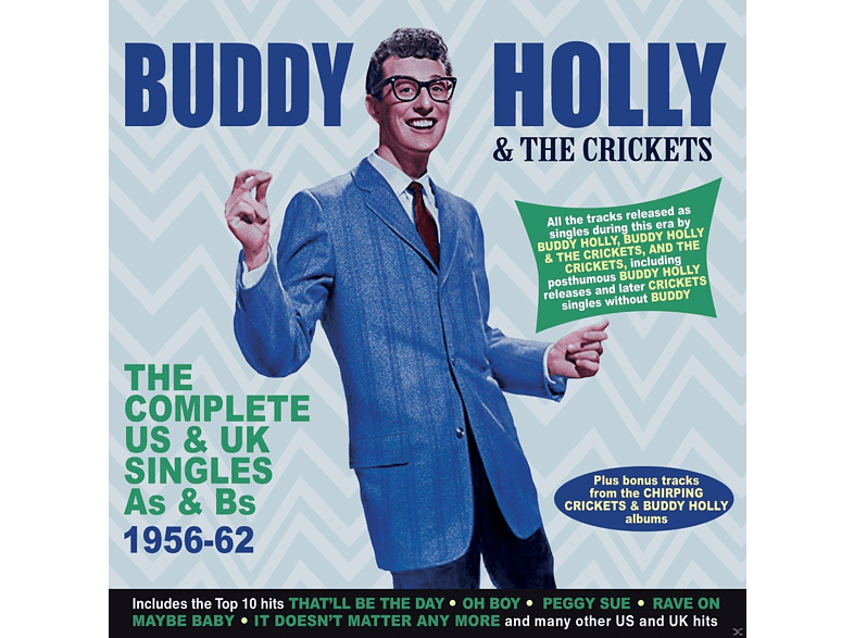 Buddy Holly, The Crickets - Complete US & UK Singles [CD]