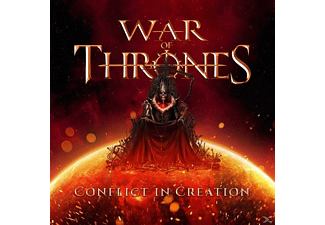 War Of Thrones - Conflict In Creation - (CD)