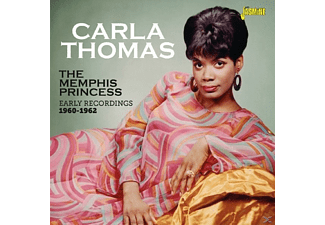 Carla Thomas - The Memphis Princess - (CD)