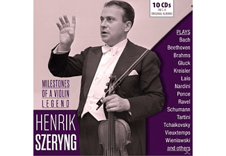 Henrik Szeryng - Milestones Of A Legend - (CD)