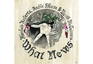 ROBERTS ALASDAIR - WHAT NEWS - (Vinyl)