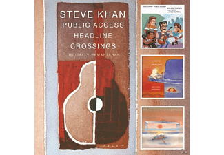 Steve Khan - Public Access/Headline/Crossings - (CD)