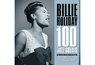 Billie Holiday - 100 Jazz Greats - (CD)