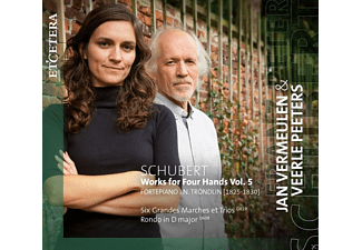 Jan Vermeulen, Veerle Peeters - Schubert: Works For Four Hands Vol. 5 - (CD)