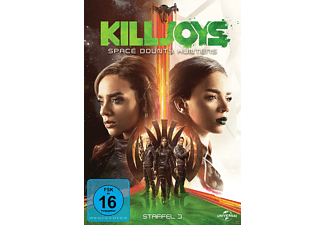 Killjoys - Space Bounty Hunters - Staffel 3 [DVD]