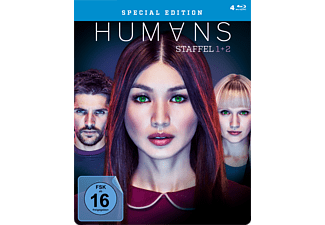 HUMANS - Staffel 1 & 2 (Exklusive limitierte Steel Edition) - (Blu-ray)