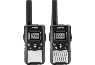 SWITEL WTC2800 Walkie Talkie Set (Schwarz)