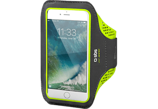SBS MOBILE Arm Holder For Sports Universal för Smartphones XXL - Svart/Gul