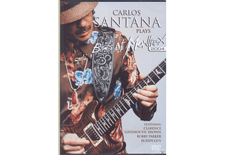 Carlos Santana - Carlos Santana - Plays Blues At Montreux (2004) - (DVD)