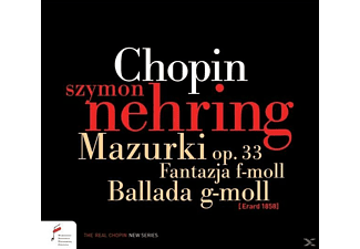 Szymon Nehring - Fantasy In F Minor,op.49,Barcarolle,op.60,Ba - (CD)