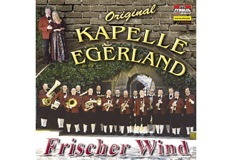 Orig. Kapelle Egerland - Frischer Wind - (CD)