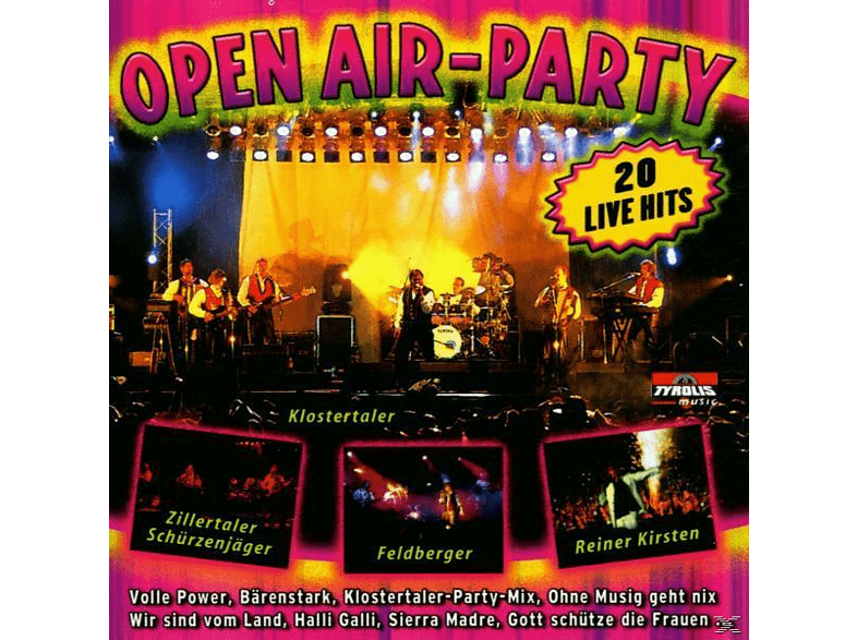VARIOUS - Open Air-Party [CD]