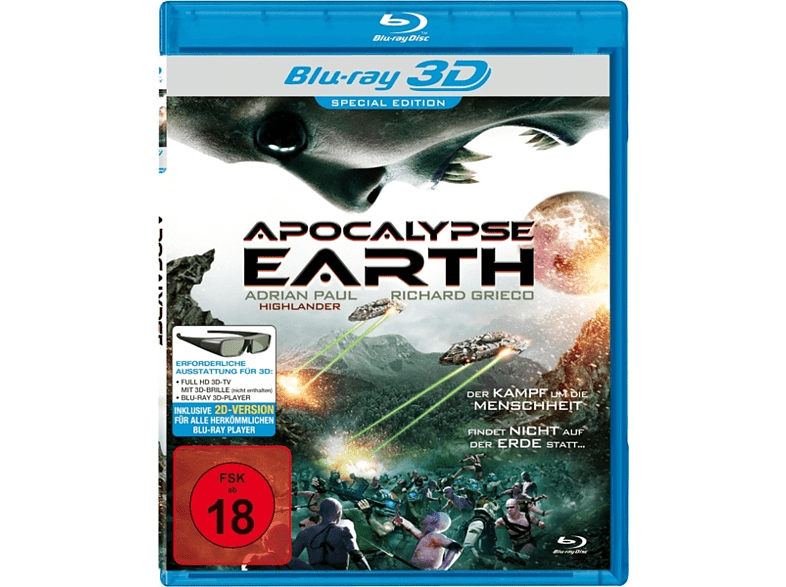 Apocalypse Earth [Blu-ray]