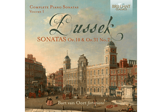 Van Oort Bart - Complete Piano Sonatas Vol.1 - (CD)