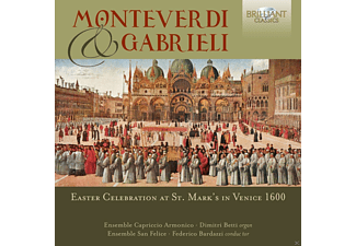 Ensemble San Felice - EASTER CELEBRATION AT ST.MARK S IN VENICE 1600 - (CD)