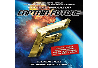 Captain Future: Die Herausforderung-Folge 01 - 1 CD - Science Fiction/Fantasy