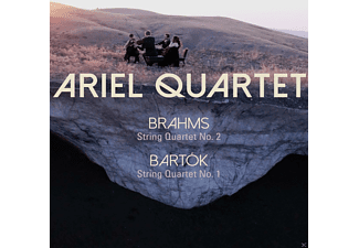 Ariel Quartet - Brahms: String Quartet 2 / Bartok: String Quartet 1 - (CD)
