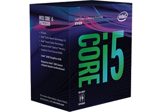 INTEL Core i5-8400, 6x 2.8 GHz, boxed (BX80684I58400)