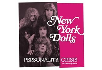The New York Dolls - personality crisis / trash (green vinyl) - (Vinyl)