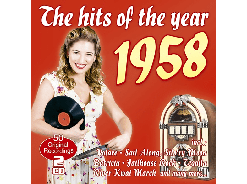 VARIOUS - The Hits Of The Year 1958 [CD]