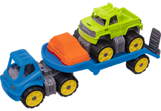 BIG BIG Power-Worker Mini Monstertruck-Set Spielzeug Monstertruck-Set, Mehrfarbig