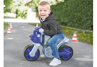 BIG Bike Polizei Bobby-Car, Blau/Grau