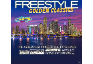 VARIOUS - Freestyle Golden Classics - (CD)