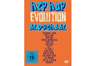 VARIOUS - Hip Hop Evolution-Oldschool - (DVD)