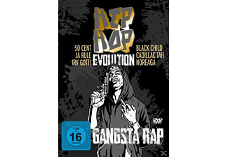 VARIOUS - Hip Hop Evolution-Gangsta Rap - (DVD)