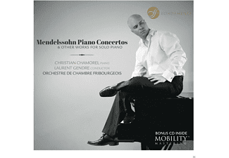 Orchestre De Chambre Fribourgeois, Christian Chamorel - Mendelssohn: Piano Concertos - (CD)