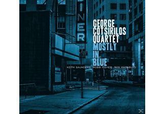 George Cotsirilos Quartet - Mostly In Blue - (CD)