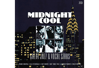 VARIOUS - Midnight Cool-Great Jazz & Vocal Stars - (CD)