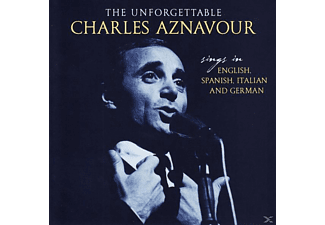 Charles Aznavour - Unforgettable-Sings In English,Spanish,Italian - (CD)
