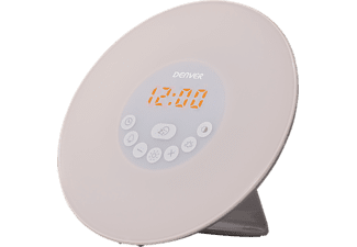 DENVER CRL-330NR Alarmklocka med wake up light