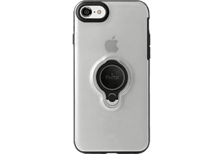 PURO Magnet Ring iPhone 7, iPhone 8 Schutzhülle, Transparent