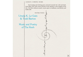 Le Guin,Ursula K.& Barton,Todd - Music And Poetry Of The Kesh - (Vinyl)