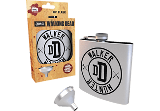 GB EYE Walking Dead Flachmann Walker Hunter Merchandise, Silber