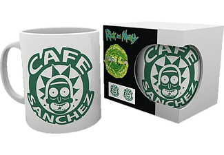 GB EYE Rick and Morty Tasse Cafe Sanchez Tasse, Weiß