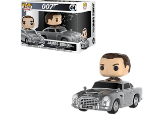FUNKO UK James Bond Pop! Vinyl Figur 44 Aston Martin & Sean Connery Vinyl Figur, Mehrfarbig