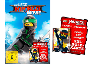 Lego Ninjago Movie (Exklusiv mit XXL-GOLD-KARTE) - (Blu-ray)