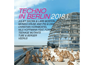 VARIOUS - Techno In Berlin 2018.1 - (CD)