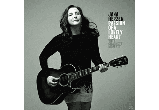 Jana Herzen With Charnett Moffett - Passion Of A Lonely Heart - (CD)