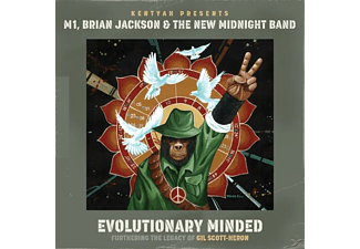 Kentyah, M1, Brian Jackson, The New Midnight Band - Evolutionary Minder - (CD)