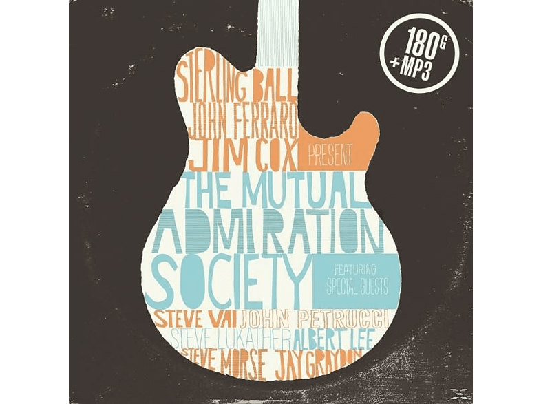 Ball Sterling - The Mutual Admiration Society (Ltd.180 Gr.LP+MP3) [LP + Download]