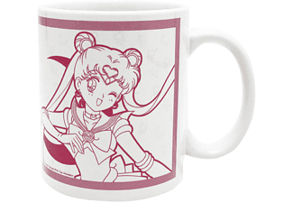 Sailor Moon Tasse Sailor Moon und Luna