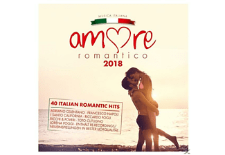 VARIOUS - Amore Romantico 2018 - (CD)