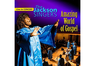 The Jackson Singers - Amazing World of Gospel - (CD)